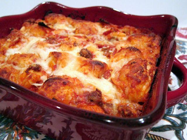 Bubble Up Pizza | Plain Chicken | savory | Pinterest