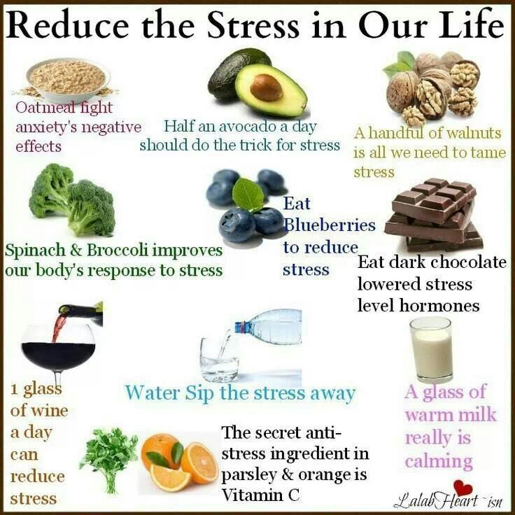 Food to reduce fatigue