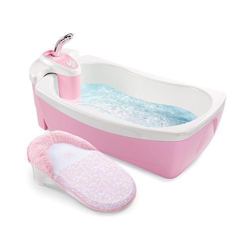 summer infant lil luxuries tub pink baby stuff pinterest. Black Bedroom Furniture Sets. Home Design Ideas