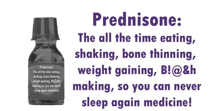 prednisone made me sleepy