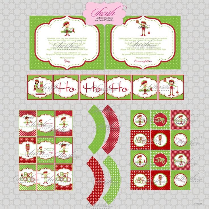 ... Holiday Printables. $16.50, via Etsy.   Elf On The Shelf   Pinterest