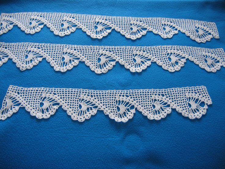 Bordure 233 tag 232 re 2 handycraft tricot et crochet pinterest