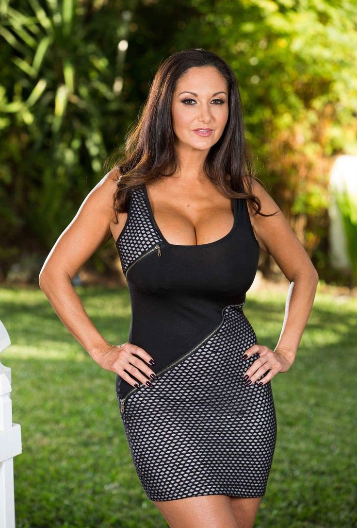 Naked maid with long legs Ava Addams teases us with her