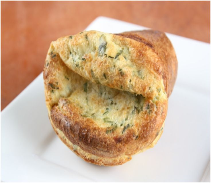 Herb and Cheese Popovers | Favorite Recipes | Pinterest