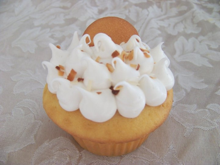 Banana Cream Pie Cupcake | Cupcakes | Pinterest