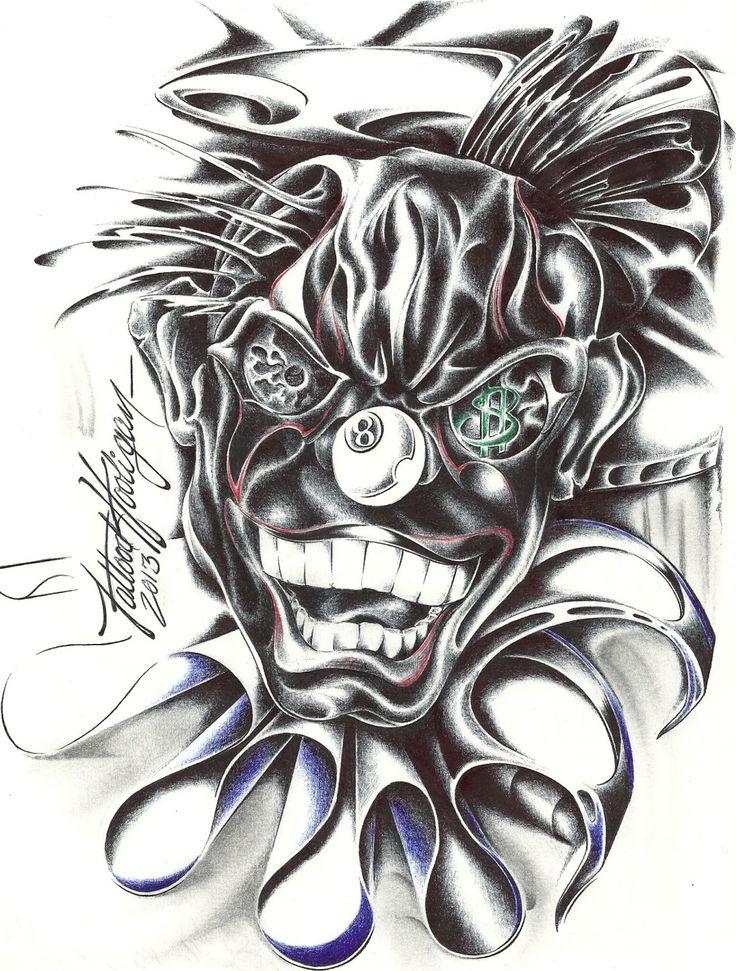 Wicked Clown | lowride... Lowrider Arte Joker