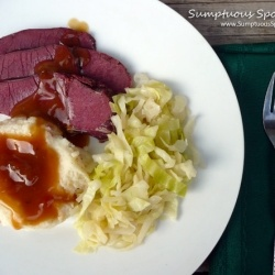 Irish Ale Corned Beef with Bacon Buttermilk Mashed Potatoes, Braised ...