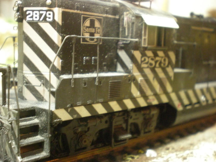 my newest ATSF GP7 built 50-53