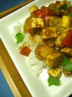 Banana and Pineapple Tofu Curry | Vegetarian | Pinterest