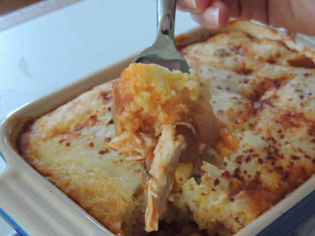 Chicken Chili and Cornbread Casserole | Supper Time | Pinterest