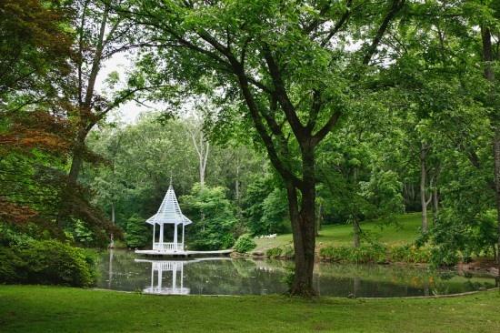 The Pond Renny Reynolds Hortulus Farm Bucks County Weddings