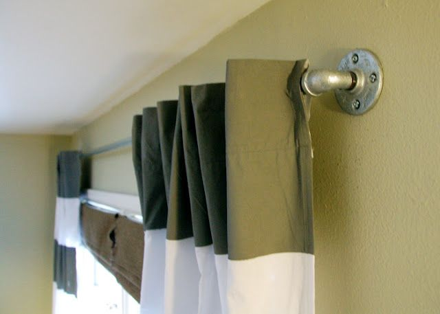 Paint Diy Curtains And Galvanized Piping Bedrooms Tween Boy Pin