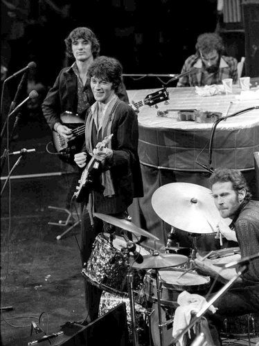 The late, great Levon Helm with The Band