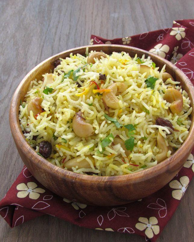 Saffron Basmati Rice | Food, food & more food | Pinterest