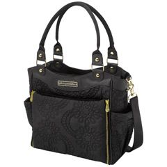 Petunia Pickle Bottom Diaper Bag City Carryall Embossed Central Park North Stop Special Edition must have the gold!
