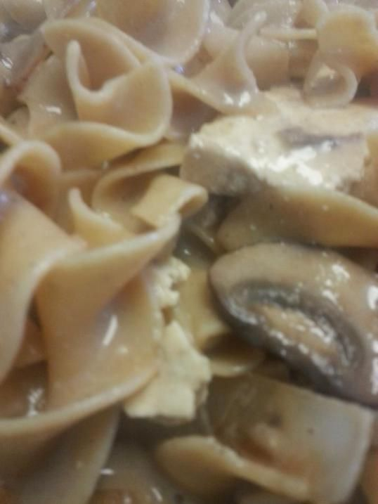 Tofu And Mushroom Stroganoff Recipe — Dishmaps