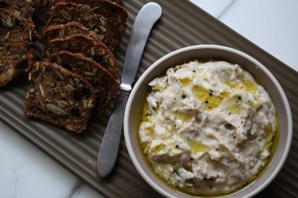 Lemon-Rosemary White Bean Dip | Food! | Pinterest