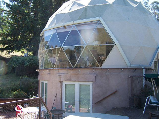 how to build a geodesic dome house