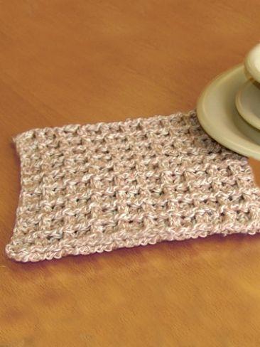 OWL DISHCLOTH CROCHET PATTERN   Free Crochet Patterns