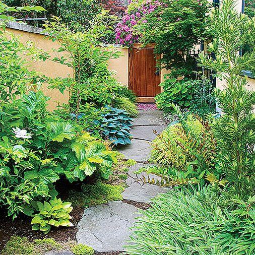 Side yard idea sunset magazine side yard ideas for Side yard landscaping ideas