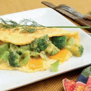 Broccoli & Cheese Omelet | What's Cookin'? | Pinterest