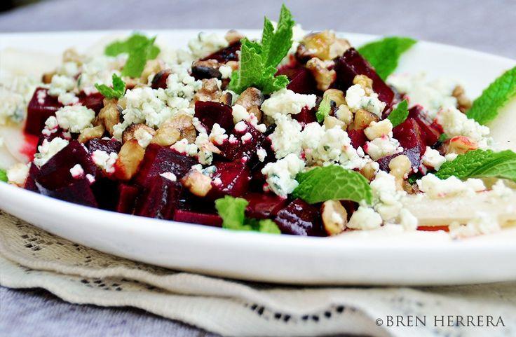 ... Blue Cheese Salad Honey French Roasted Beet, Pear, & Bleu Cheese Salad
