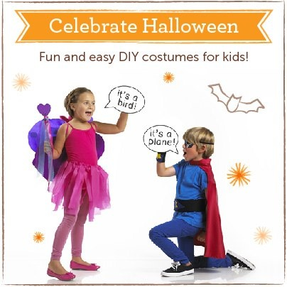 New Limited Edition #DIY Halloween Costumes from Kiwi Crate: Fairy & Superhero