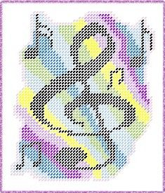 Musical Notes Plastic Canvas E-Pattern. $3.00, via Etsy.