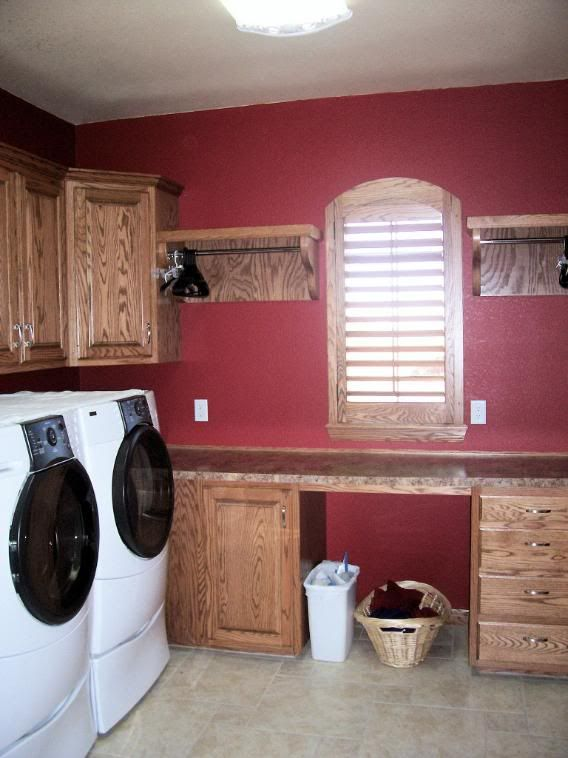 Benjamin moore raspberry truffle for the home pinterest - Best colors for a laundry room ...