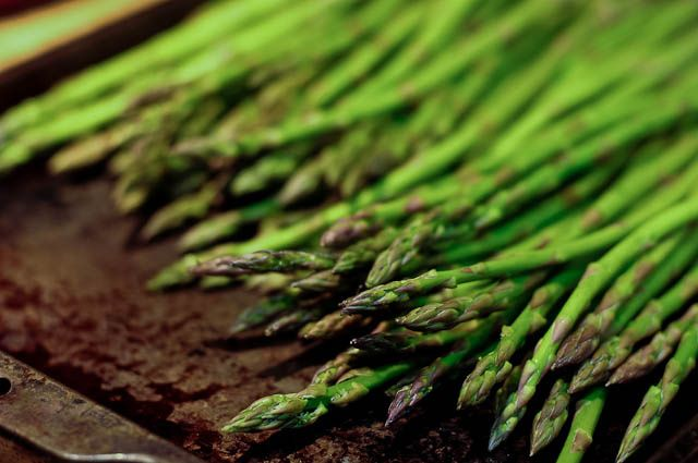 Oven Roasted Asparagus - Quick and Easy
