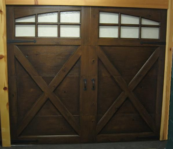 Pin by rebecca fix on house designing pinterest for Wood look garage doors