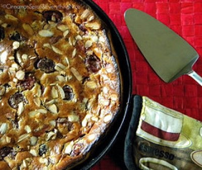 Cherry Almond Clafoutis | Cooking and Cleaning | Pinterest