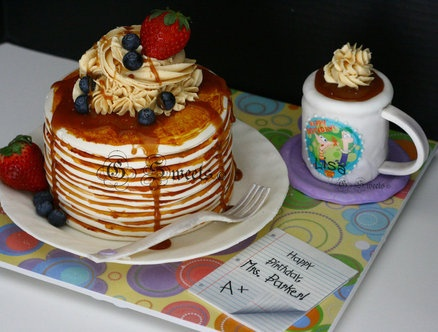 Pancakes and Coffee cakes
