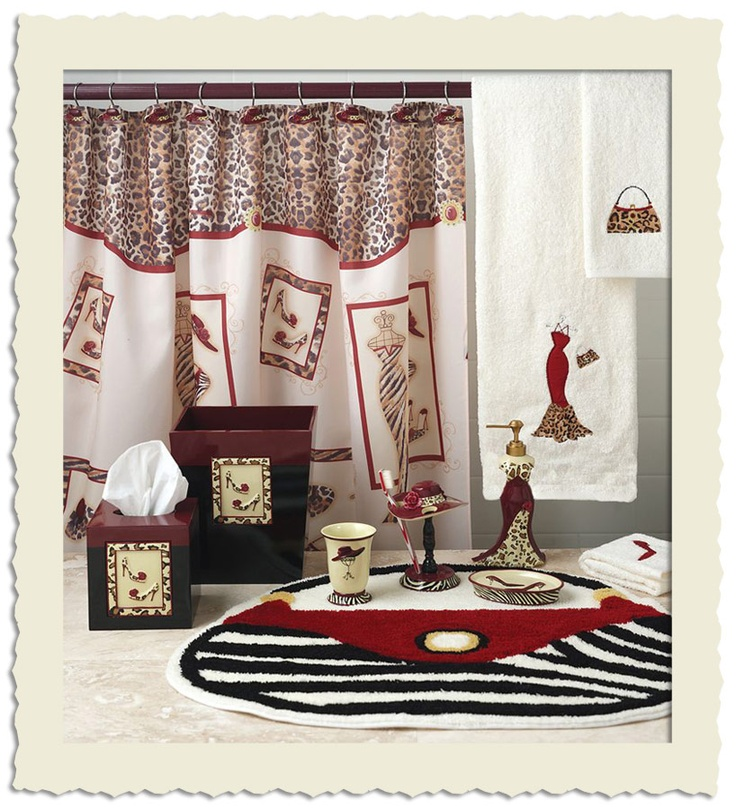 Pin by anna 39 s linens on splish splash pinterest for Girly bathroom accessories