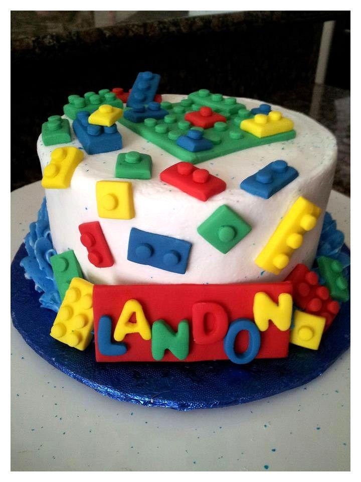 Lego Cake For My Girls.... Pinterest