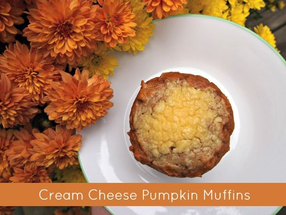 Cream Cheese Pumpkin Muffins Recipe | Breakfast/Brunch | Pinterest