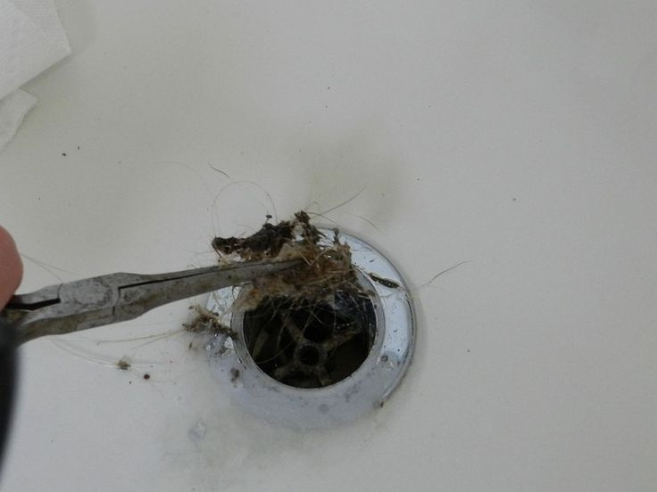 tutorial on cleaning your bathtub drain