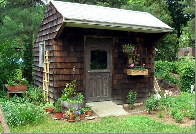 Garden shed rustic flickr gardening pinterest for English garden shed designs