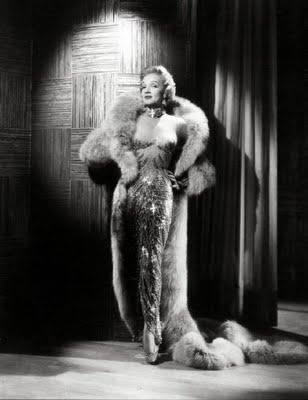 Jean Louis, Marlene Dietrich in Las Vegas, Sahara Hotel, 1953