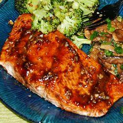 Balsamic-Glazed Salmon Fillets | Recipe