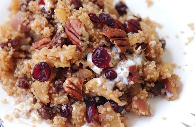 Apple Cinnamon Quinoa Breakfast | HEALTH NERDS - FOOD | Pinterest