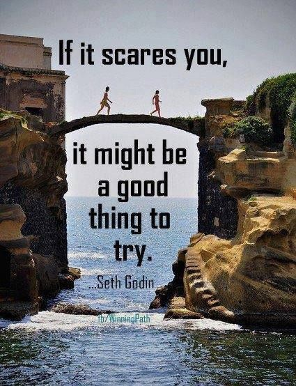 Glad Seth added 'might' that turns this from a terrible quote into a brilliant one! #sethgodin #quotes #selfdevelopment