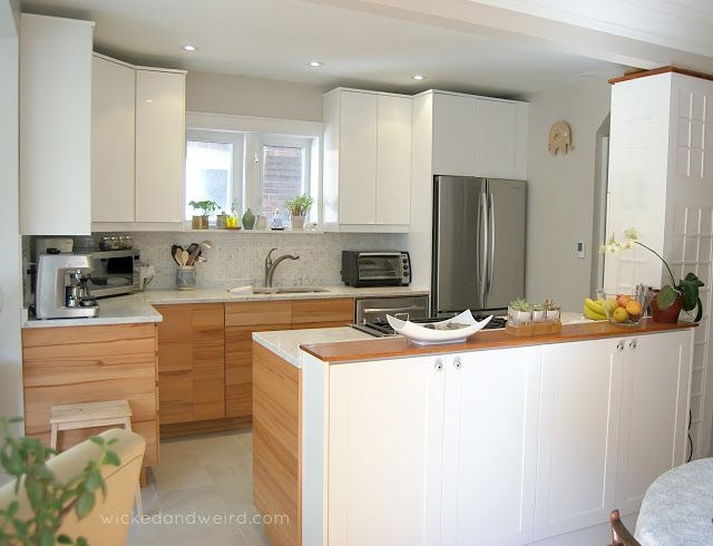 not the  wood  cabinets though  kitchens  Pinterest