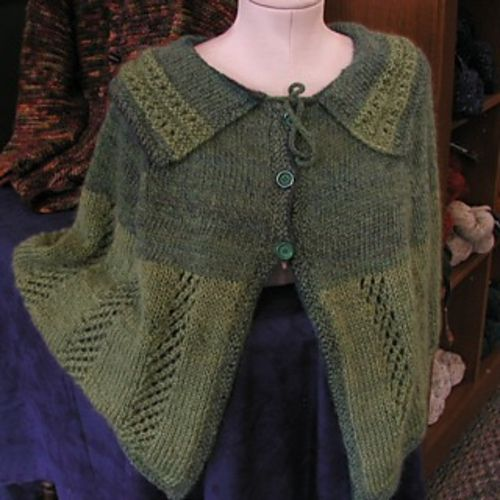 Free Capelet Knitting Patterns : Capelet - free pattern Knit and Crochet Pinterest
