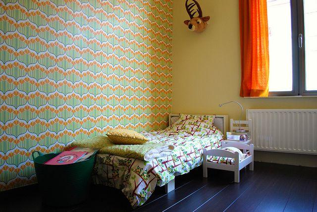 Behangpapier slaapkamer  Huis!  Pinterest