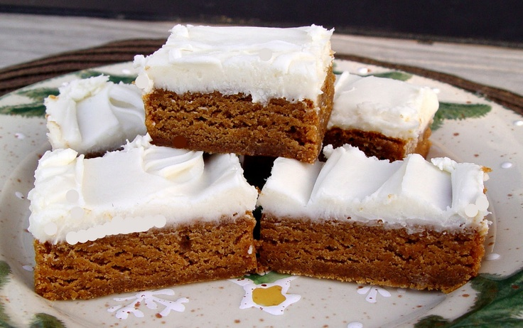 Chewy Gingerbread Bars: Mmm, these were fantastic. I put it in a jelly ...