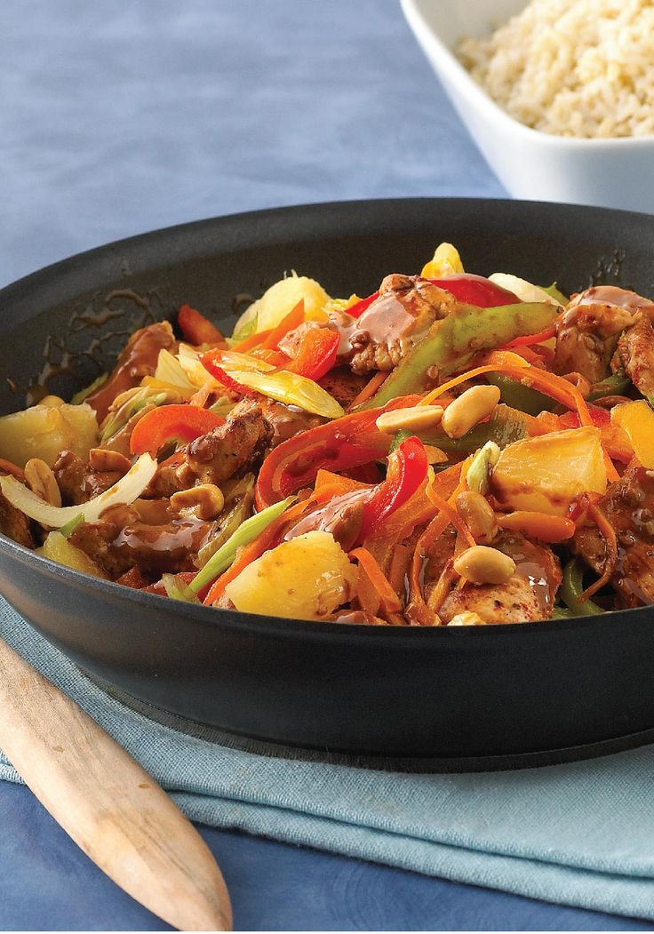 Spicy Chicken Stir-Fry -- Infuse your dinner rotation with Asian ...