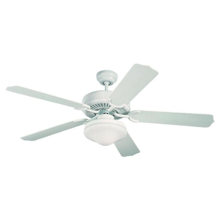 Two Light White Ceiling Fan | Richmond Chandelier $190 monte carlo