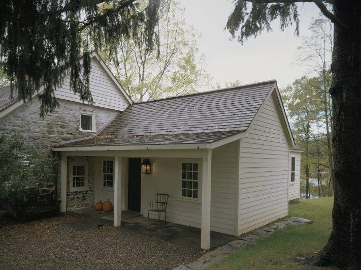 Addition to stone cottage for the home pinterest for Cottage additions