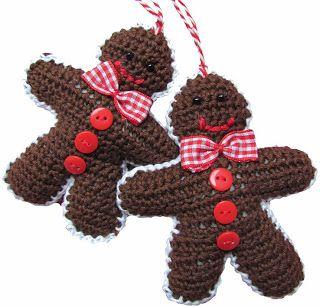 Free Crochet Pattern For Gingerbread Man Hat : Pin by ? h e l l e n on ? d i y - c h r i s t m a s ...